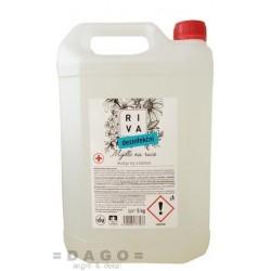 Tekuté mýdlo RIVA virucidní 5L