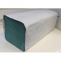 Ručník skládaný ZZ 1vr. zelený 20x250 listů