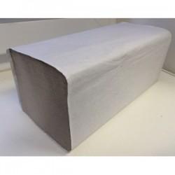 Ručník skládaný ZZ 1vr. šedý 20x250listů