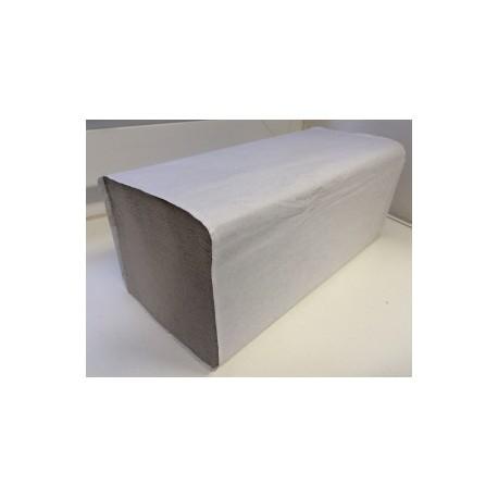 Ručník skládaný ZZ 1vr. šedý 5000ks