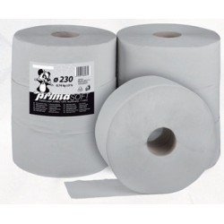 Toaletní papír Jumbo 230 1 vrstvý /6 rolí