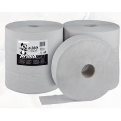 Toaletní papír Jumbo 280 1 vrstvý/6 rolí