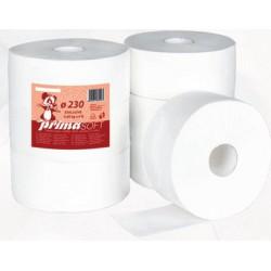 Toaletní papír Jumbo 230  2vrstvá celulosa / 6rolí