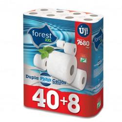 Toaletní papír Forest 48ks 2 vrstvý bílý