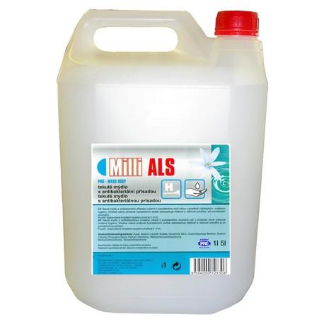 Mýdlo tekuté Milli ALS 5L  antibakterial