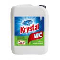 Krystal WC čistič kyselý 5L zelený