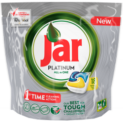 Jar tablety Platinum Lemon 18ks