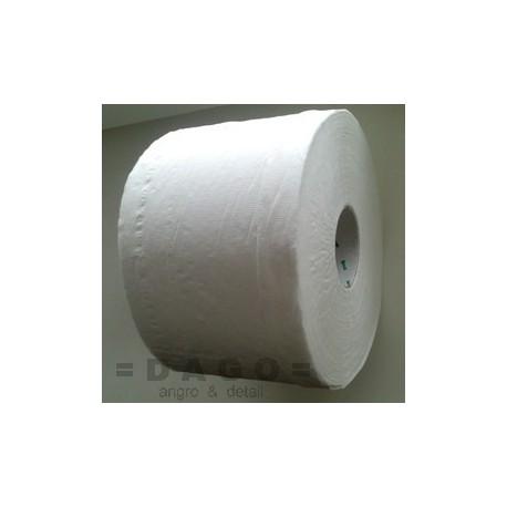 Toaletní papír Jumbo se středovým odvinem.