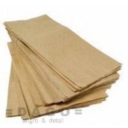 Sáčky papírové 17x27cm křížové dno