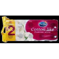 Toaletní papír PERFEX Cotton Like 3vrs. 10ks