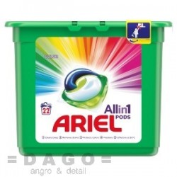 Ariel tablety 22ks Color